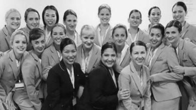 cabin crew uniform