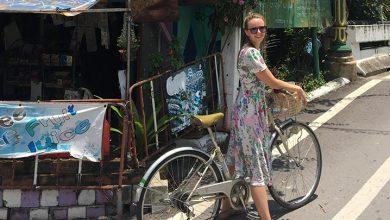 Rachel - cycling in Bangkok